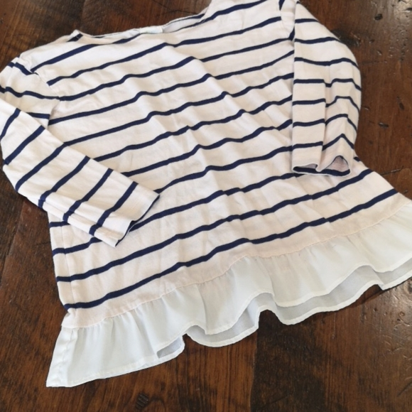 Crewcuts Other - CREW Cuts size 6/7 ruffle top